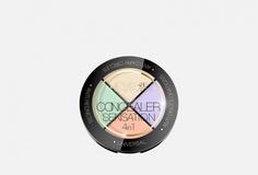 Профессиональный набор корректоров для макияжа 4в1 Eveline