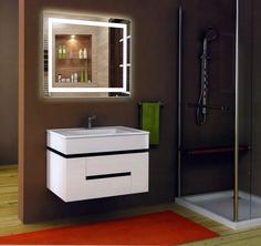 Зеркало Тритон Rimini 1200х700, Led подсветка, сенсорный выключатель Континент