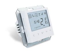 Программируемый электронный термостат SALUS BTRP230 55x55 мм, встраиваемый под рамки