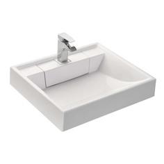 Раковина Акватон Рейн 1A72103KRW010 60 см, для стиральной машины, белая