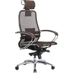 Кресло Метта Samurai S-2.03 темно-коричневый