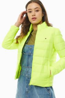 Куртка WW0WW26806 ZQF hyper yellow Tommy Hilfiger