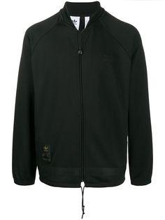 adidas куртка с вышитым логотипом
