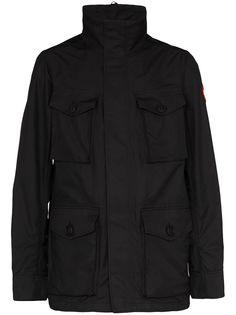 Canada Goose куртка Stanhope с карманами