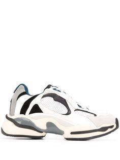 Sandro Paris кроссовки со вставками