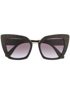 Dolce & Gabbana Eyewear солнцезащитные очки DG4359 в оправе бабочка