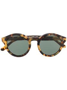 Polo Ralph Lauren солнцезащитные очки в оправе черепаховой расцветки