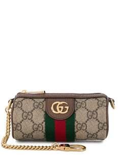 Gucci клатч с узором GG Supreme