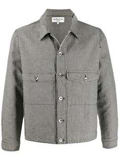 YMC джинсовая куртка в тонкую полоску