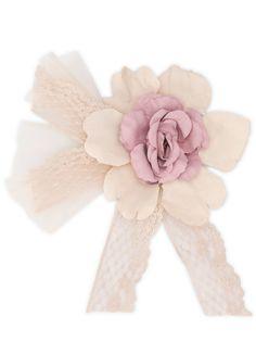Mimilù заколка для волос с цветочным кружевом