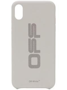 Off-White чехол для iPhone XS с логотипом