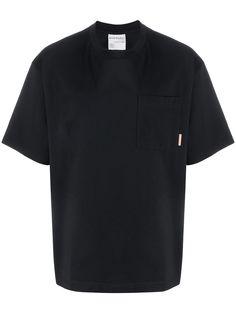 Acne Studios футболка свободного кроя с нагрудным карманом