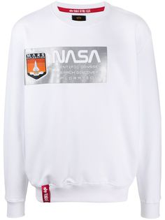 Alpha Industries x NASA logo sweatshirt