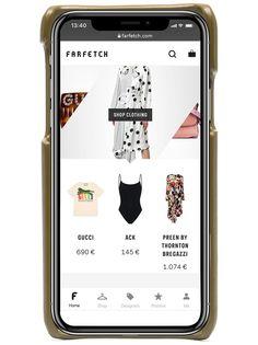 Bottega Veneta чехол для iPhone Х с плетением Intrecciato