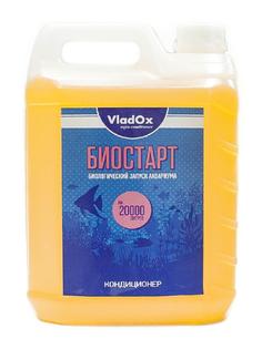 Средство Vladox Биостарт 82795 - Кондиционер для подготовки воды во время запуска аквариума 5000ml на 20000L