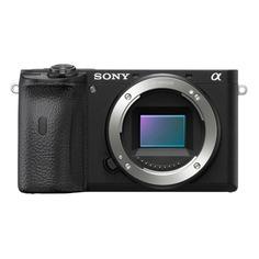 """Цифровые фотоаппараты Фотоаппарат Sony Alpha A6600 черный 24.2Mpix 2.95"""" 4K WiFi NP-FZ100"""