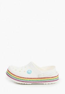 Сабо Crocs Crocband Rainbow Glitter Clg K
