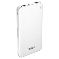 Внешний аккумулятор TFN PB-202 SlimDuo 10000 мАч White