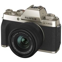Фотоаппарат системный Fujifilm X-T200 15-45 Gold X-T200 15-45 Gold