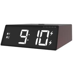 Радио-часы Ritmix RRC-910Qi Black
