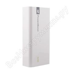 Внешний аккумулятор gp емкостью 5200 мач, белый, в пластиковом корпусе 1c05awe-2crfb1