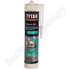 Силиконовый герметик для аквариумов и стекла tytan professional бесцветный 310мл 64233