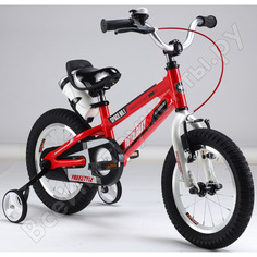 "Велосипед royal baby freestyle space №1 18"", алюминиевая рама rb18-17 красный"