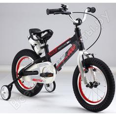 "Велосипед royal baby freestyle space №1 18"", алюминиевая рама rb18-17 черный"