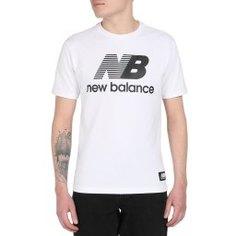 Футболка NEW BALANCE MT01518 молочно-белый