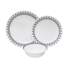 Набор посуды Corelle Livingware City Block 12 предметов