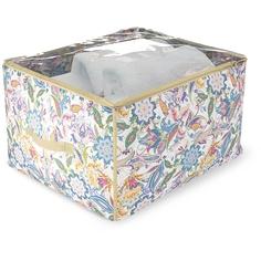 Кофр для хранения Hausmann 60х50х35 см, бежевый/принт