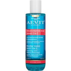 Мицеллярная вода Librederm Aevit Для очищения кожи и демакияжа 5 в 1 200 мл