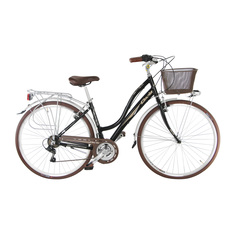 Велосипед Cicli cinzia giara lady 28 21cкорость perl black