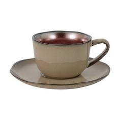 Чашка с блюдцем JULIA VYSOTSKAYA Copper 0,18 л