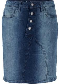 Юбки Джинсовая юбка Bonprix