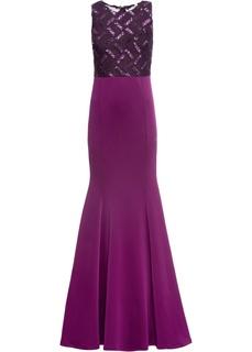 Длинные платья Платье макси с пайетками Bonprix