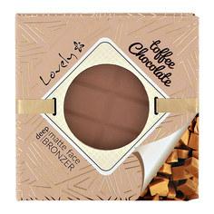 Пудра для лица компактная LOVELY CHOCOLATE BRONZER тон toffe
