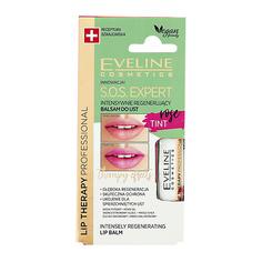 Бальзам для губ EVELINE S.O.S. EXPERT ROSE TINT интенсивно регенерирующий 4,5 г