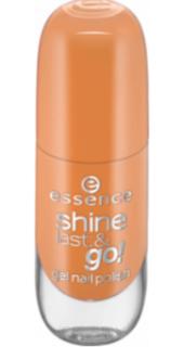 Essence, Лак для ногтей с эффектом геля Shine Last & Go, 8 мл (56 оттенков) №53 honey honey