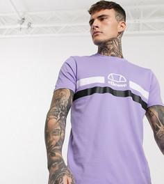 Лавандовая футболка с логотипом ellesse эксклюзивно для ASOS-Фиолетовый
