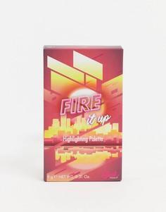 Палитра хайлайтеров Sleek MakeUP - Fire It Up-Золотой