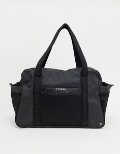 Темно-серая сумка Farah-Серый