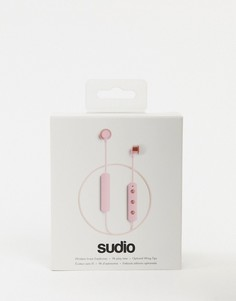 Розовые bluetooth-наушники Sudio Tio-Бесцветный