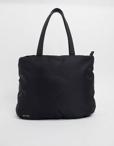 Нейлоновая дутая сумка-тоут Mi-Pac-Черный