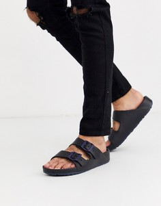 Темно-синие мужские сандалии Slydes-Темно-синий