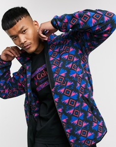 Легкая флисовая куртка с разноцветным принтом Columbia Back Bowl-Мульти