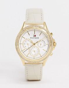 Белые часы Tommy Hilfiger-Белый