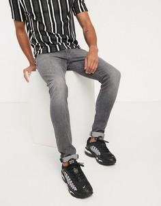 Серые джинсы скинни Wrangler-Серый