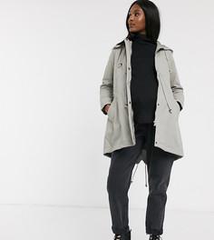 Серая куртка Mamalicious Maternity-Серый Mama.Licious