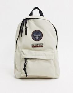 Светло-серый рюкзак Napapijri Voyage-Кремовый